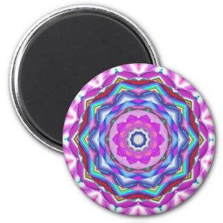 Pink Mandala Fridge Magnet