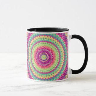 Pink Mandala Mug