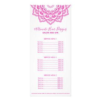 Pink Mandala Rack Card