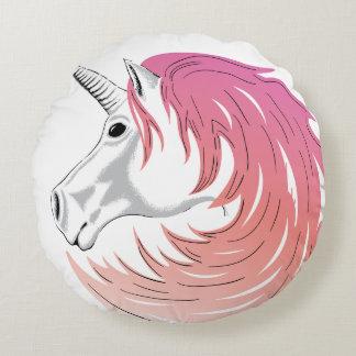 Pink Mane Unicorn Pillow