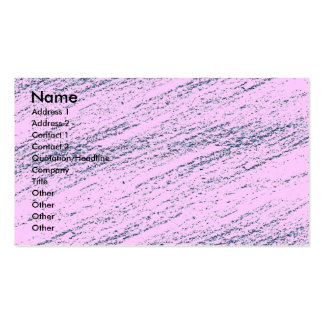 Pink Marble Business Profile Card Business Cards