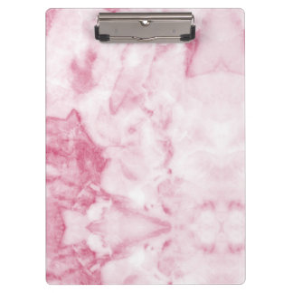Pink Marble Clipboard