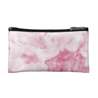 Pink Marble Cosmetic Bag