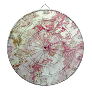 Pink Marble Dartboard