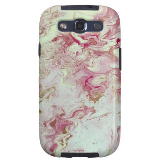 Pink Marble Galaxy SIII Case