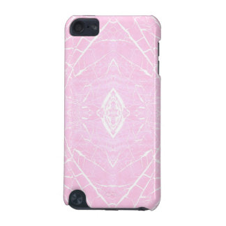 Pink marble pattern iPod touch 5G cases