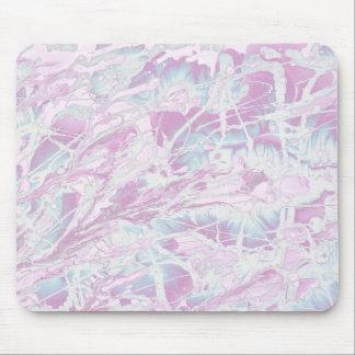 Pink Marble Pattern Mousepad