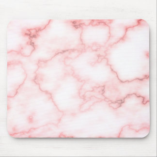 Pink Marble Plain Mouse Pad
