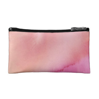 Pink Marble Watercolour Cosmetic Bag