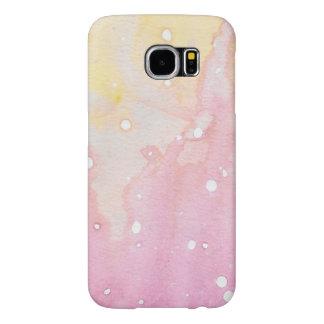 Pink Marble Watercolour Splat