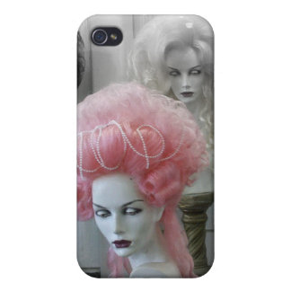 Pink Marie Antoinette Wig Covers For iPhone 4