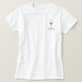 Pink Martini Personalized Embroidered Shirt