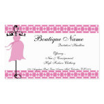 Pink Maternity Dress Boutique Business Cards