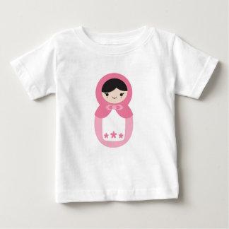 Pink Matryoshka Doll Baby T-Shirt
