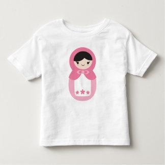 Pink Matryoshka Doll Toddler T-Shirt