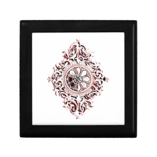 Pink Medallion Gift Box