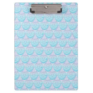 Pink Mermaid scales ,boho,hippie,bohemian Clipboard