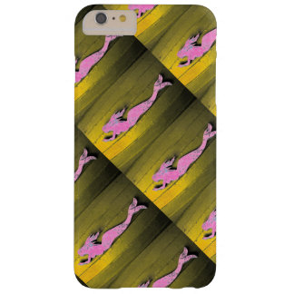 pink mermaids diving barely there iPhone 6 plus case