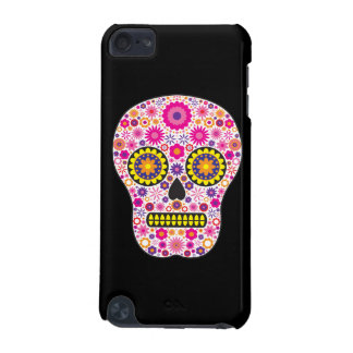 Pink Mexican Sugar Skull iPod Touch 5G Covers