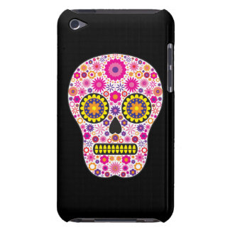 Pink Mexican Sugar Skull Barely There iPod Cover