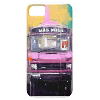 pink mini bus case for the iPhone 5