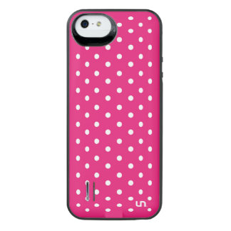 Pink Mini Dots Uncommon Power Gallery™ iPhone 5 Battery Case