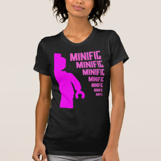 Pink Minifig by Customize My Minifig T-shirt