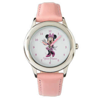 Pink Minnie | Cute Pose Watch