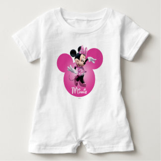 Pink Minnie | Mickey Head Icon Baby Bodysuit