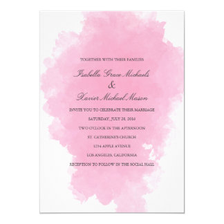 Pink Mist | Wedding Invitation