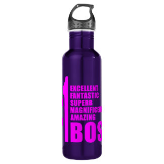 Pink Modern Bosses : Number One Boss 710 Ml Water Bottle