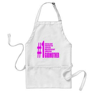 Pink Modern Godmothers : Number One Godmother Standard Apron