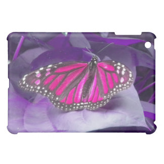Pink Monarch Butterfly ipad case