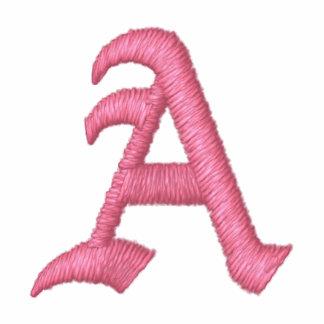 Pink Monogram A
