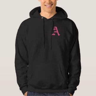 Pink Monogram A Hoodie