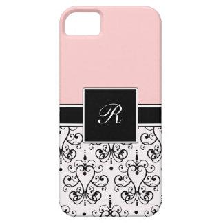 Pink Monogram iPhone Cases