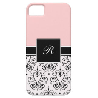 Pink Monogram iPhone Cases iPhone 5 Cover