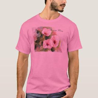 Pink Morning Glories T-Shirt