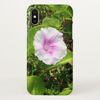 Pink Morning Glory Blossom, Hawaii iPhone X Case