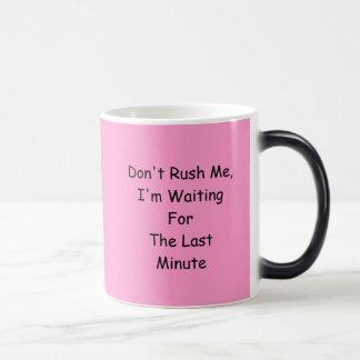 Pink Morphing Joke Coffee Tea Mug