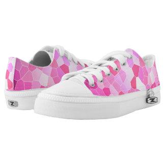 Pink mosaic sneakers