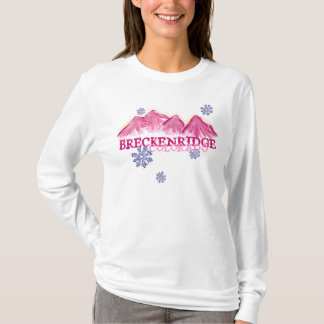 Pink mountains Breckenridge Colorado hoodie