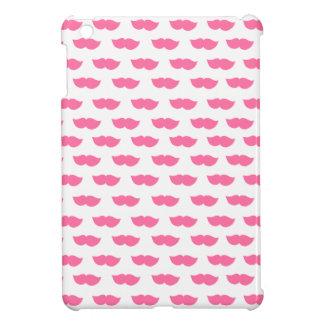 Pink Moustaches iPad Mini Cases