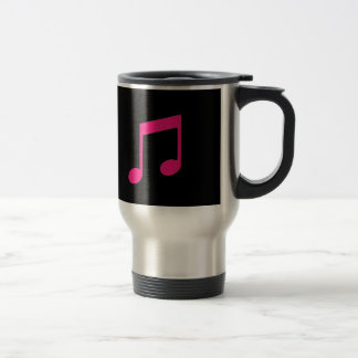 Pink Music Travel Mug