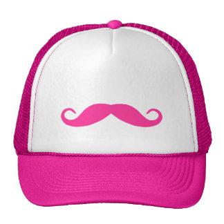 Pink Mustache Hat