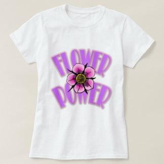Pink-N-Purple Flower Power T-Shirt