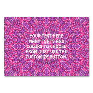 Pink n Purple Kaleidoscope Card