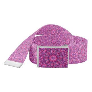 Pink n Purple Kaleidoscope Custom Belt