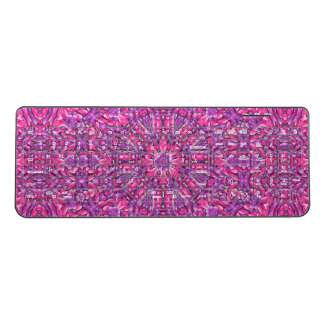 Pink n Purple Kaleidoscope   Wireless Keyboard