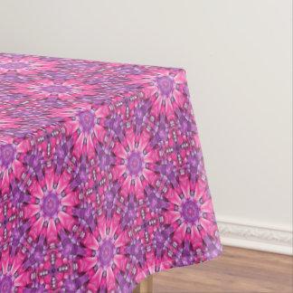 Pink n Purple Vintage Kaleidoscope   Tablecloth